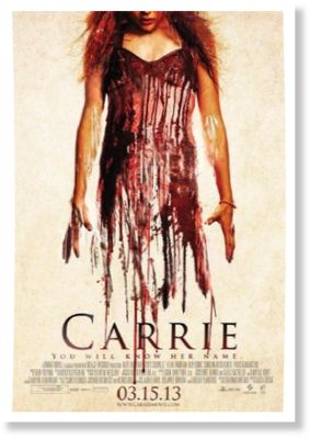 Carrie Poster from the 2013 remake