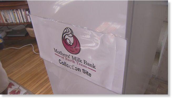 Breast milk collection center opens in Miami