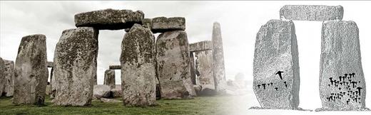 Archaeologists analyze previously undiscovered stonehenge