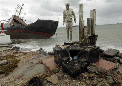Panama storm ship