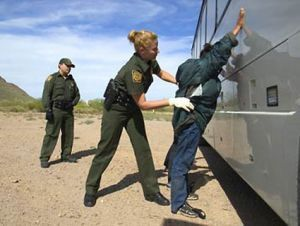 border patrol miranda rights
