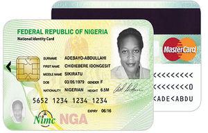 ID card Africa