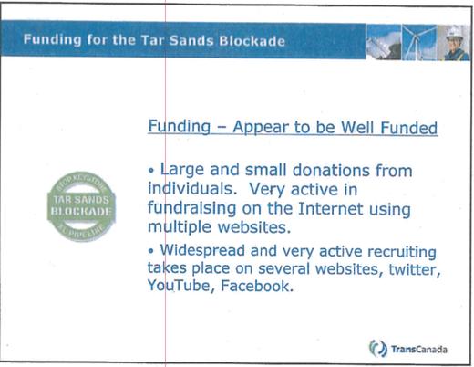 blockade funding