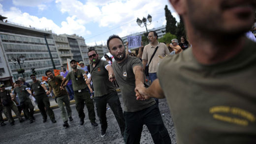 Greece protest