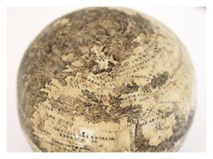 Engraved Globe