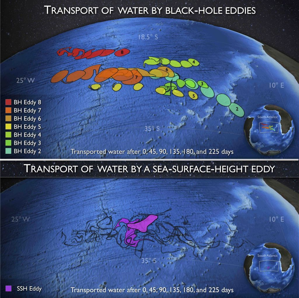 Black Hole in Ocean Evolution of Black Hole