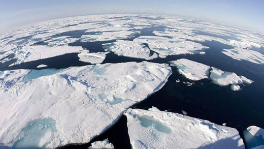 Sea Ice in the Arctic Ocean