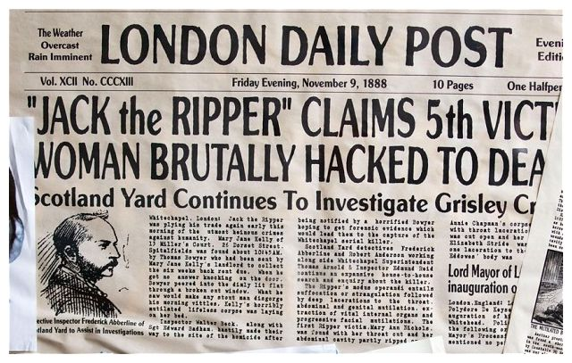 Why were the police unable to catch Jack the Ripper?