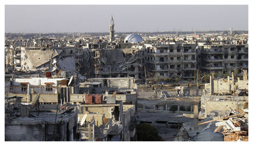 syria damage