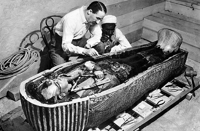 Weird facts about King Tut and his mummy -- Secret History ...