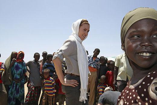 Scarlet Johanson in Kenya