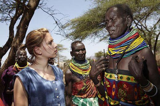 Scarlet Johanson in Kenya 2