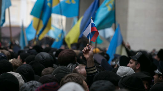Rally in Crimea