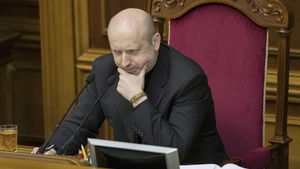 The self-proclaimed president of Ukraine Aleksandr Turchinov