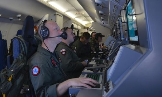 Crew members, U.S. Navy P-8A Poseidon, Malaysia Airlines flight MH370