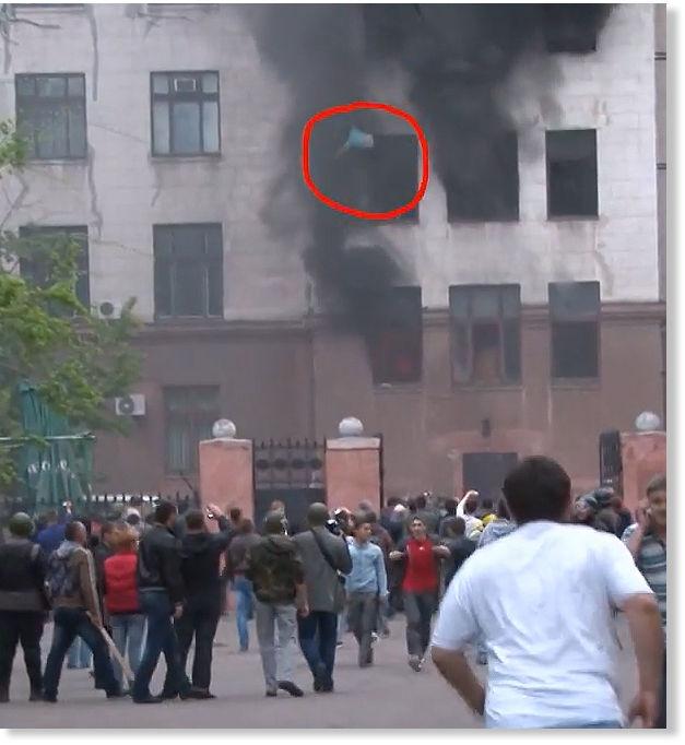 a survivor of the odessa trade union building attack