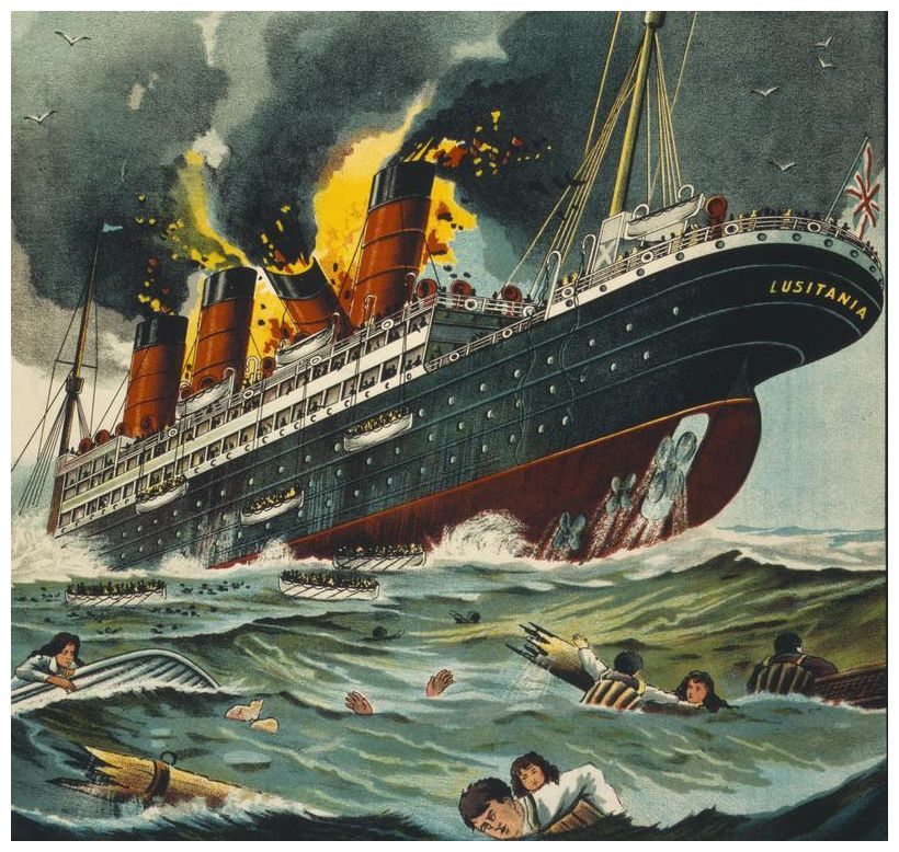Sinking The Lusitania An Act Of Mass Murder By The