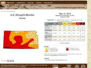 Kansas sécheresse