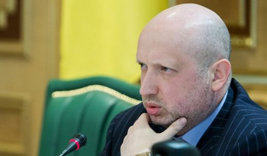 Speaker of the Verkhovna Rada of Ukraine Alexander Turchynov