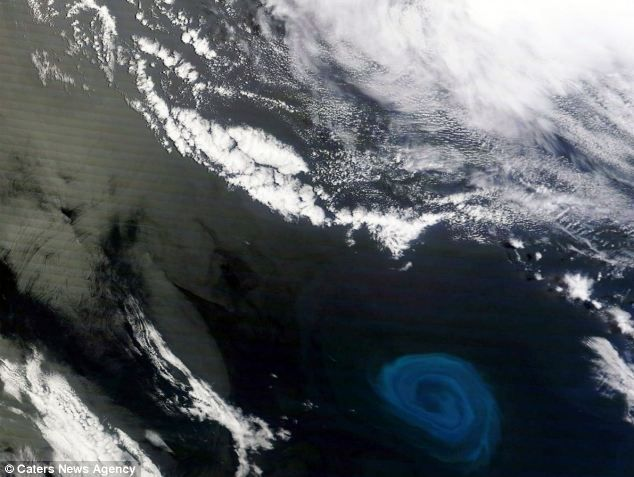 Giant Whirlpools In The Ocean Are Driving The Weather
