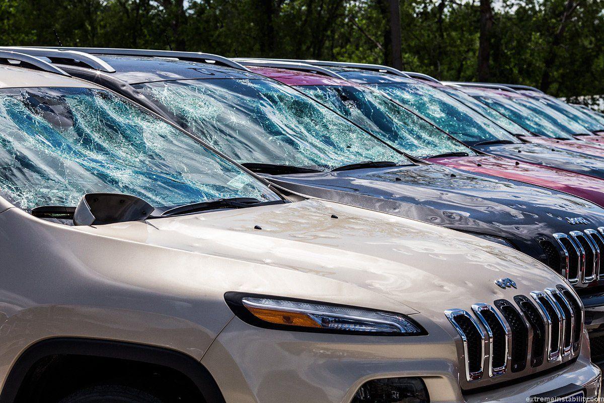 Massive Nebraska hailstorm thrashes homes buildings cars