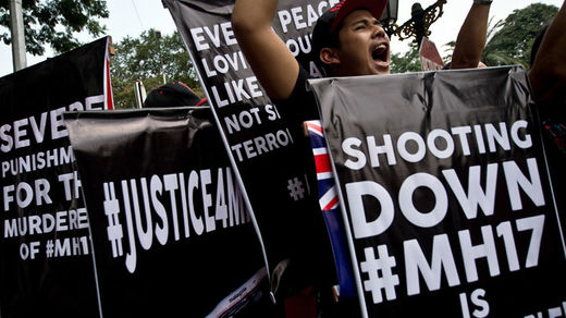 MH17 protest