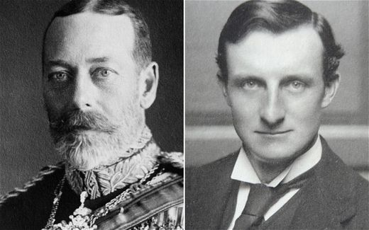 George V, Edward Grey