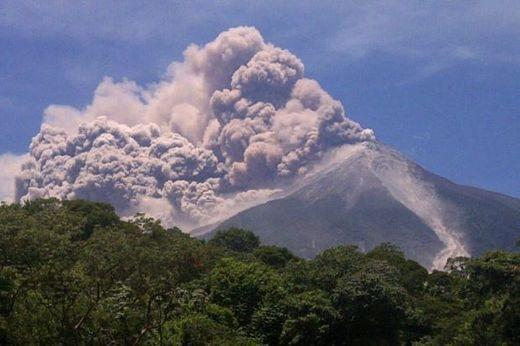 Guatemala feu du volcan