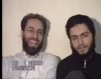 Mohammed Atta and Ziod Jarrah, from the video produced by The Times
