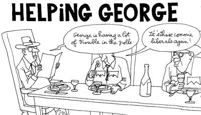 Helping George Comic Book