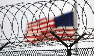 US flag at Guantanamo