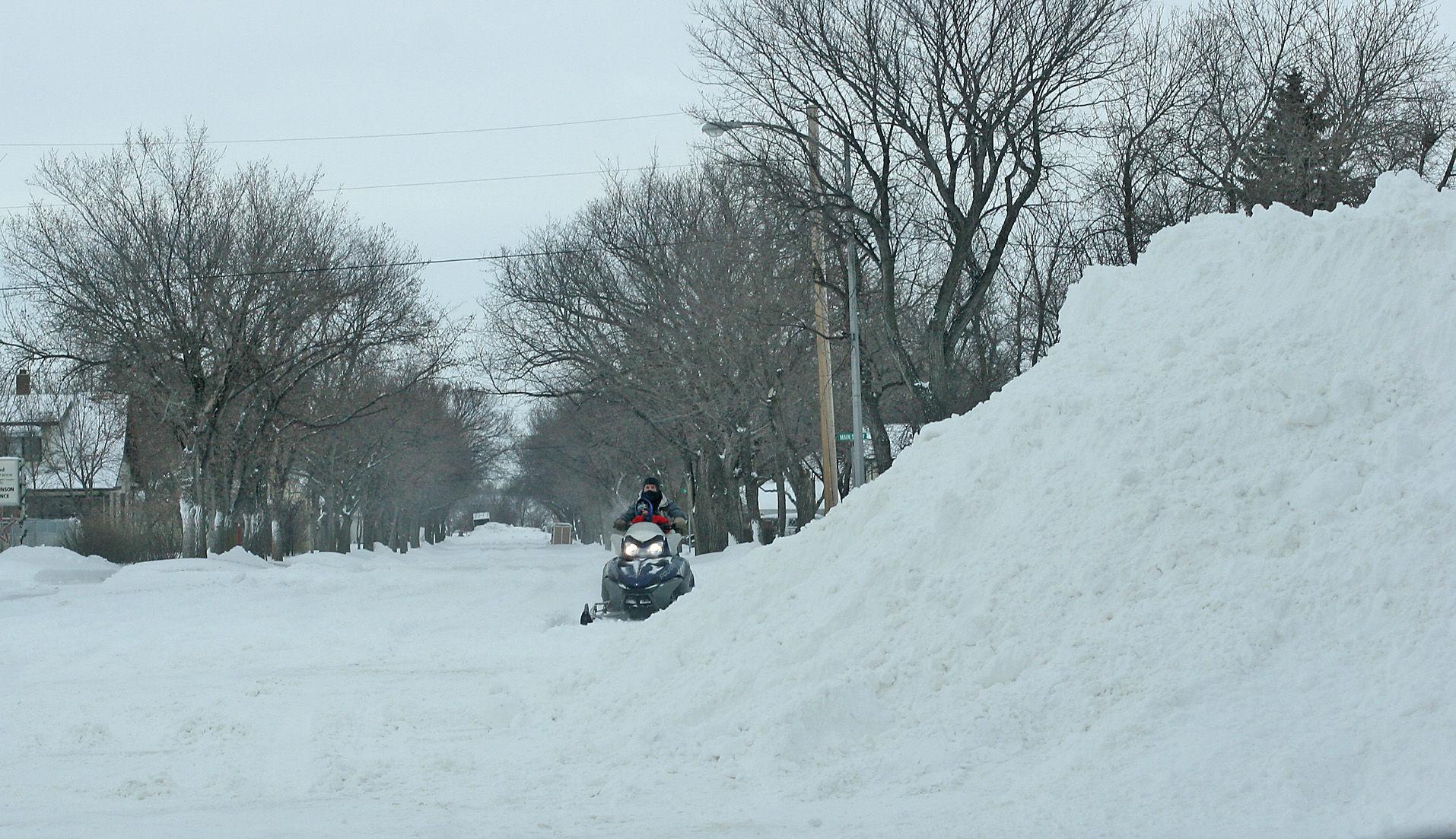 Snowiest Winter Ever Recorded in North Dakota -- Earth ...