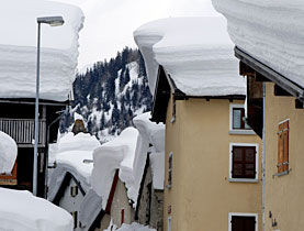 Switzerland record snow