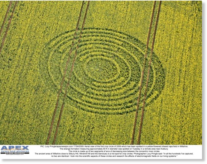 England it must be spring the first of this years crop circles first 2009 crop circle publicscrutiny Choice Image