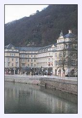 spa building in Bad Ems