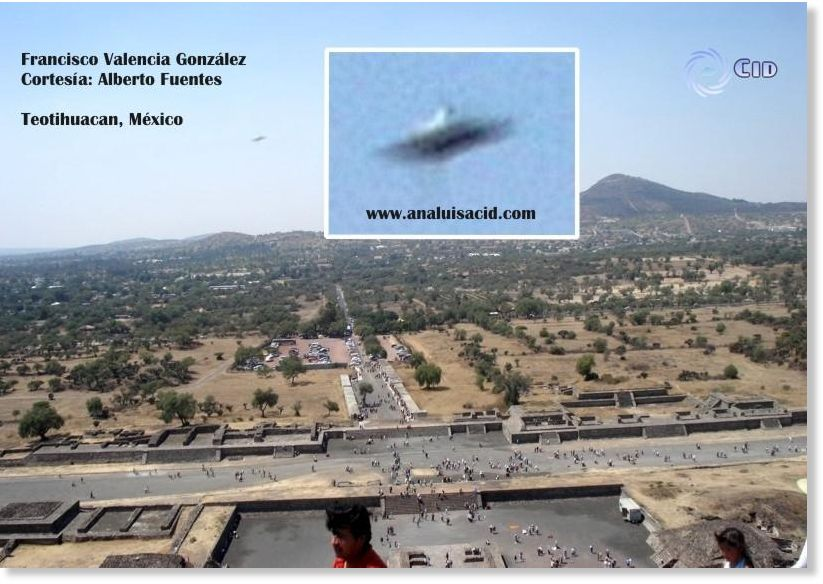 Earthquakes In Mexico >> Mexico: Alleged UFO Over Teotihuacán? -- High Strangeness -- Sott.net
