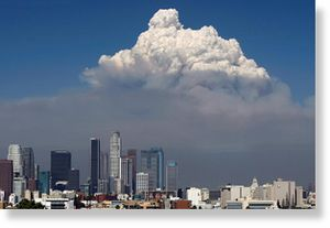A towering cloud