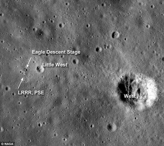 proof of landing on the moon telescope - photo #4