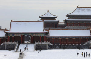 Snow at Forbidden City