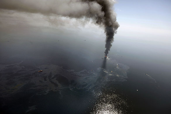 Mother of all gushers - BP Oil Disaster in Gulf of Mexico - A Timeline