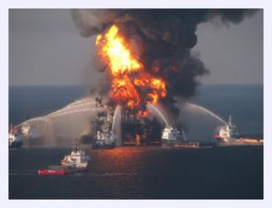 oil explosion