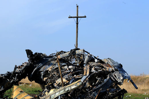 MH17 wreckage2