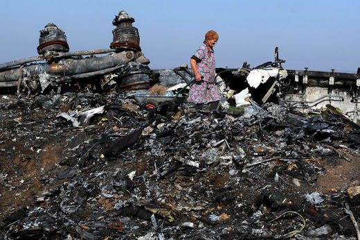MH17 wreckage3