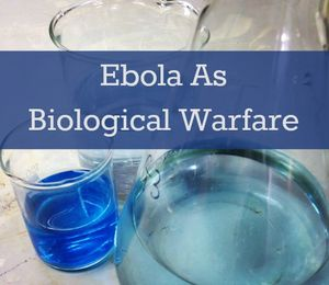 ebola biological warfare