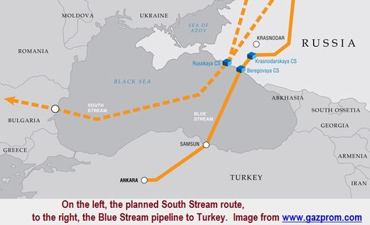 South Stream cancelled