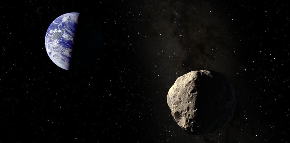 Potentially hazardous asteroid surprises astronomers science