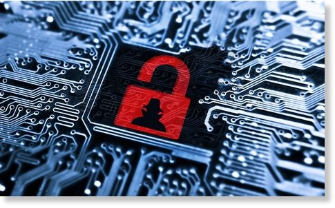 blackmail opportunity? more than 48,000 federal employees affectedHacked Symbol On Computer Circuit Board With Open Red Padlock Stock #16