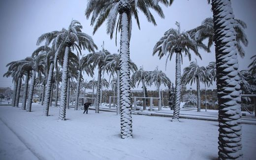 Snow in Israel
