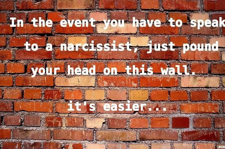 Relationships with narcissists don t last long