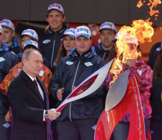 Putin Olympic ceremony